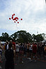 Jack & Jamie Kaiser release the balloons for Ryan.