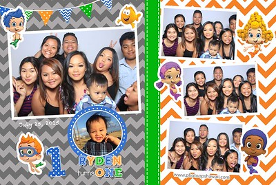 Ryden's 1st Birthday (Fusion Photo Booth)
