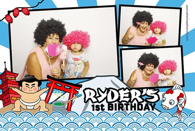 Ryder's 1st Birthday (Fusion Photo Booth)