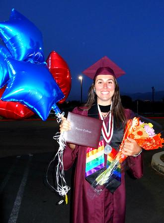 Ryen's Graduation Norco College, Norco CA June 3, 2016