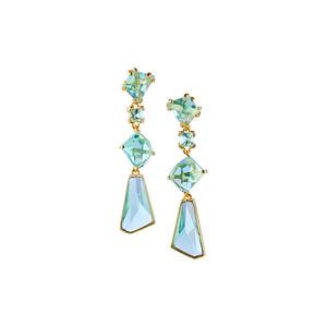 Prisma - Aqua Golden Gala Earring