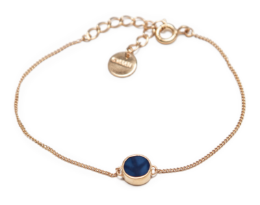 Swedish Grace Golden Midnatt bracelet