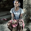 Portrait of a Sao Tome girl