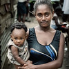 Mother and child, Porto Abade