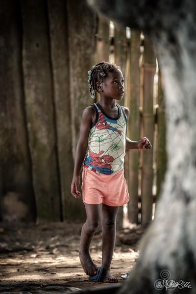 Little girl, Porto Abade