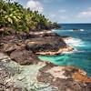 Turquoise seas of Sao Tome