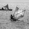 Dugouts under sail