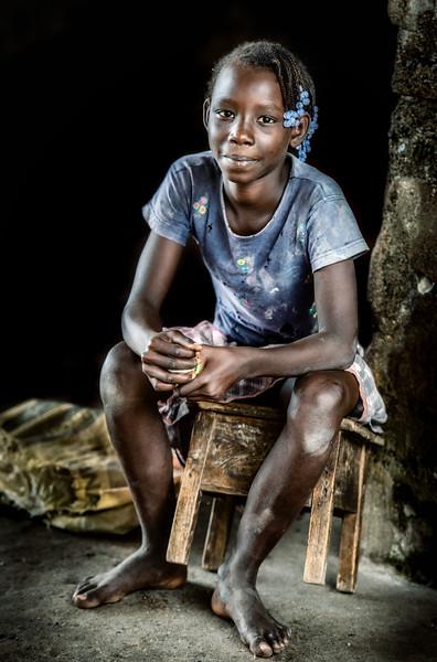 Sao Tome girl, Neves