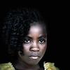 Agua Ize girl, Sao Tome e Principe