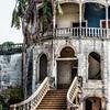 Agua Ize hospital in ruins