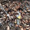 Kids in coconuts, Praia Piscina