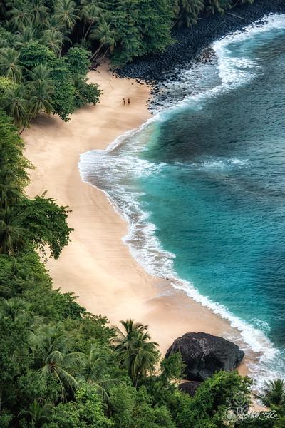 Banana beach, STP
