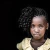 Portrait of an Agua Ize girl, STP