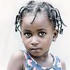 Santomean child beauty