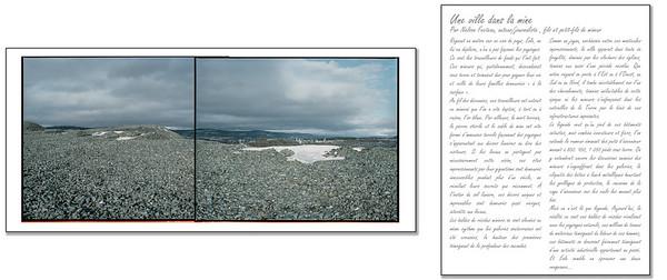 Visuel : Richard Perron, Halde Noed/Est (2014) Littéraire : Nelson Fecteau (2019)