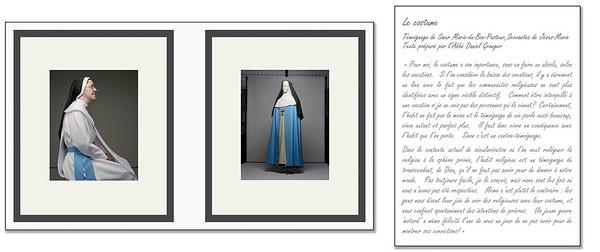 Visuel : Richard Perron, Soeur Marie-du-Bon-Pasteur, Servantes de Jésus-Marie et l'habit(2012) Littéraire : L'abbé Daniel Granger (2012)