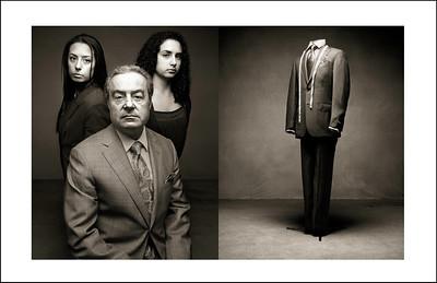 Mounir Sayed et ses deux filles (2010)
