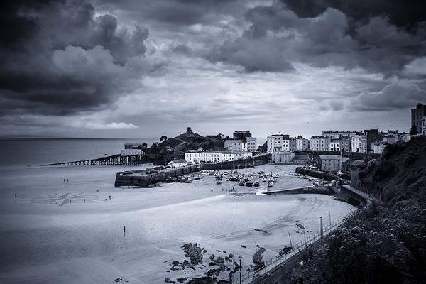 Tenby beach, Pembrokeshire, Wales