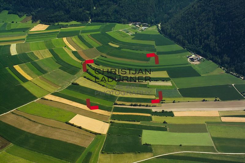 Felder bei Gais - Ahrntal