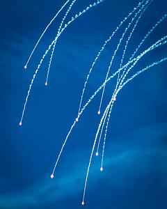Anti-missle Defense Flares
