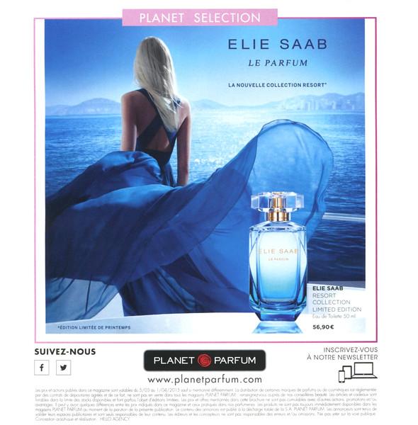 SAAB Le Parfum Collection Resort 2015 Belgium (Planet Parfum) 19 x 19 cm 'Planet selection - La nouvelle Collection Resort'