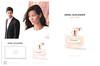 ANGEL SCHLESSER pour Elle 2015 Spain (recto-verso with scent card) <br /> 'Un encuentro - Una presencia - Un recuerdo - La nueva fragancia para ella'<br /> MODELS: Sheila Marquez (Spain) & Jakub Zelman (Slovak Republic); <br /> PHOTO: Mireia Castane (Spain); LOCATION: Mies Van Der Rohe Pavillion (Barcelona, Spain)