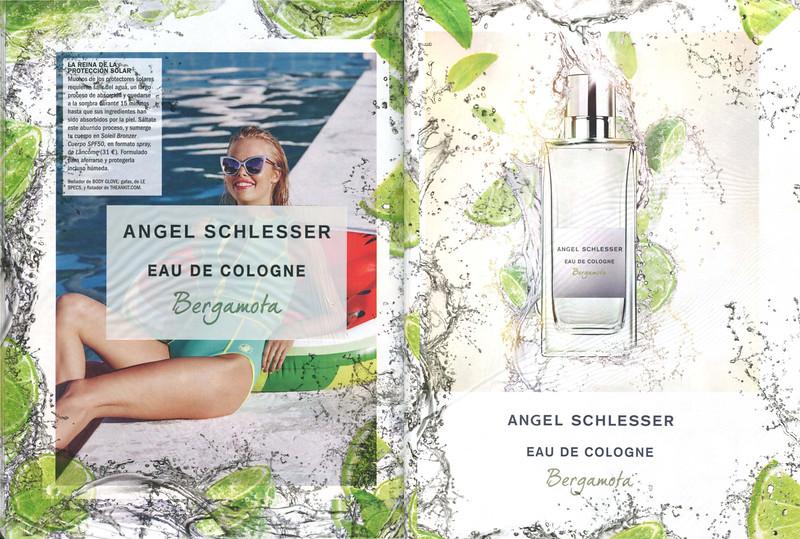 ANGEL SCHLESSER Eau de Cologne Bergamota 2016 Spain (spread with transparency)