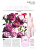 SHISEIDO Ever Bloom Eau de Toilette 2016 Spain (advertorial Marie Claire) 'A flor de piel'