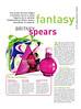 BRITNEY SPEARS Fantasy 2006 Spain (Publirreportaje Woman) 'Una poción de amor mágica y tentadora'