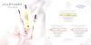 JILL STUART Diverse (Jill - Night Jewel -  Vanilla Lust) 2014 Hong Kong (recto-verso card 15 x 15 cm) 'Roll-on fragrance'
