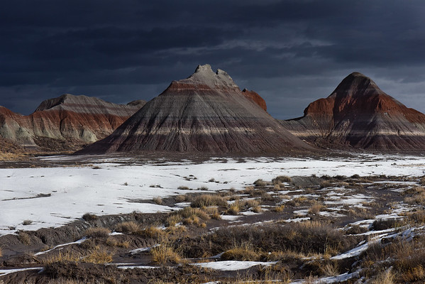 Tepees in Petrified Forest National Park
