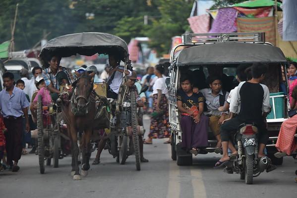 Rush Hour in Amarapura