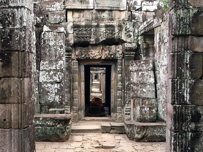 Ancient Stone Passage at Banteay Kdei