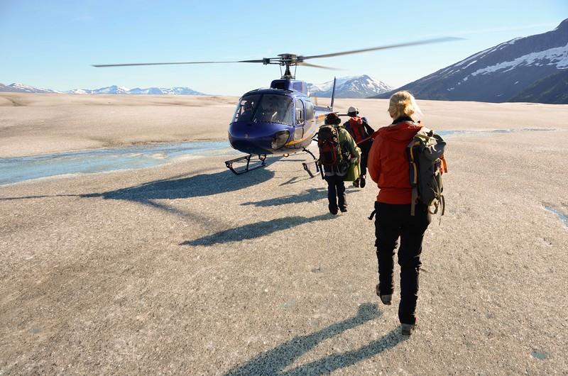 Trekking Alaska's Taku Glacier