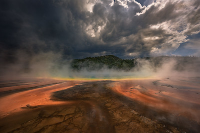 Grand Prismatic Spring, Yellostone National Park