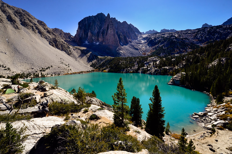 Glacial Landscape of the High Sierras