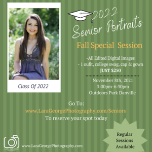 Senior Grad Special 1 day only