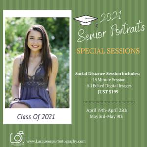 2021 Senior Sign up post