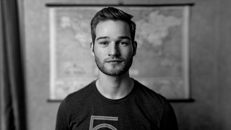 Portrait taken by Zack Berlat.