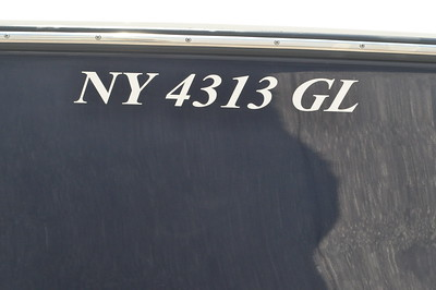 S245911-Registration Numbers Block White Vinyl