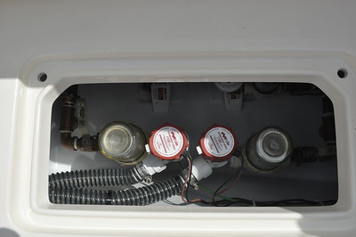 S247331-Dual Baitwell Pump 1100gph Fwd 50 gallon Baitwell
