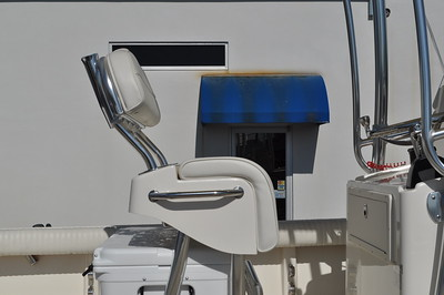 S248431-Helm Seat Lean Post w/Space for a Cooler w/Backrest