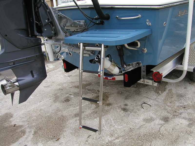 Swim Platforms - Sheaffer Boats