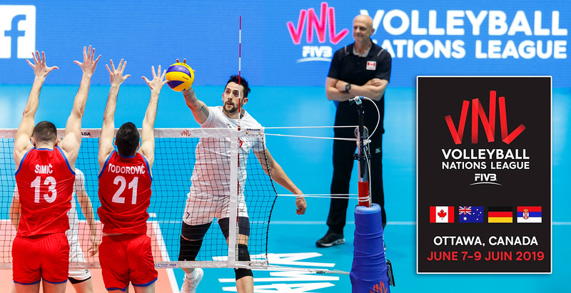 FIVB Volleyball Nations League Tournament in Ottawa, Canada