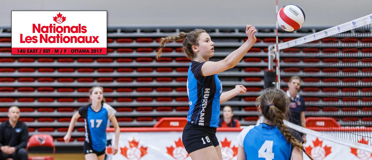 Volleyball: 2017 Nationals - 14U East - Ottawa