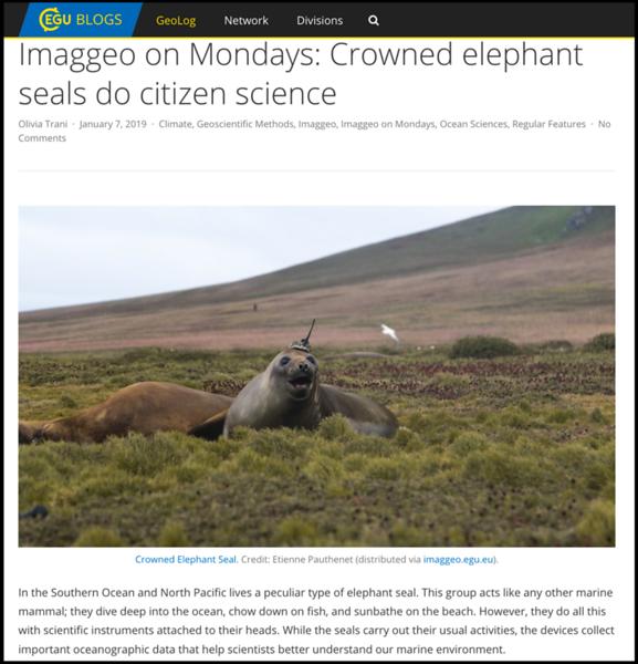 "<a href=""https://blogs.egu.eu/geolog/2019/01/07/imaggeo-on-mondays-crowned-elephant-seals-do-citizen-science/"">https://blogs.egu.eu/geolog/2019/01/07/imaggeo-on-mondays-crowned-elephant-seals-do-citizen-science/</a>"