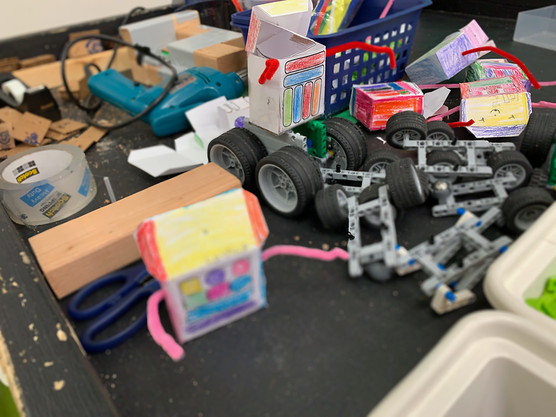 2019-11-19 Fitzgerald STEAM Lab Buidl-a-Robot