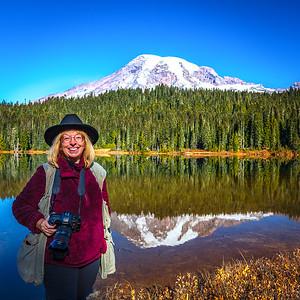 Becky At Reflection Lake
