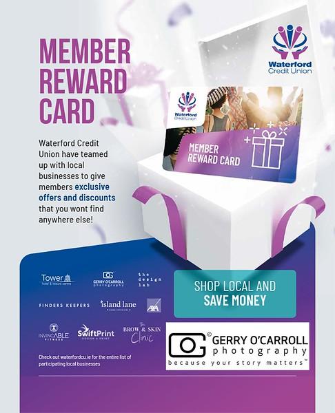 Member Reward Card Press Ad full Page