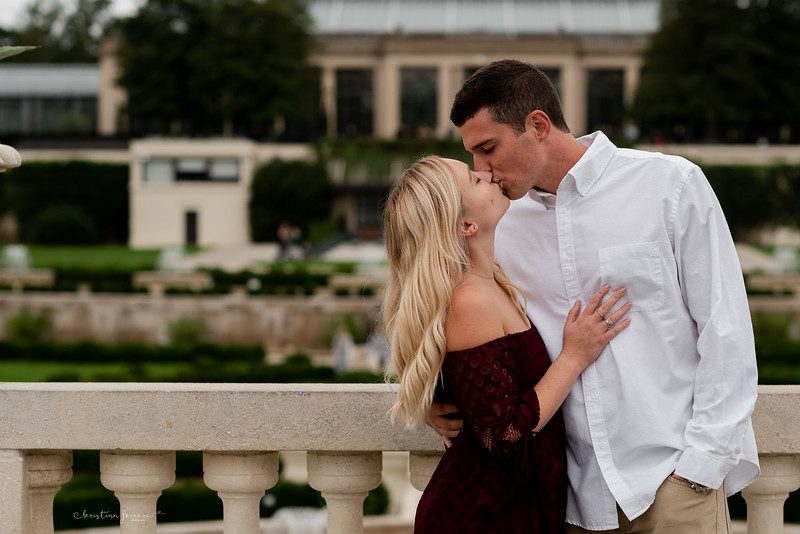 Kirsten & Brady's Engagement Session at Longwood Gardens – Kristina Ferrara Photography - Engagement Photographer Fallston Maryland